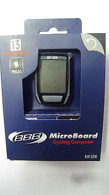 BBB Microboard BCP-22 13F Fahrrad Computer weiß