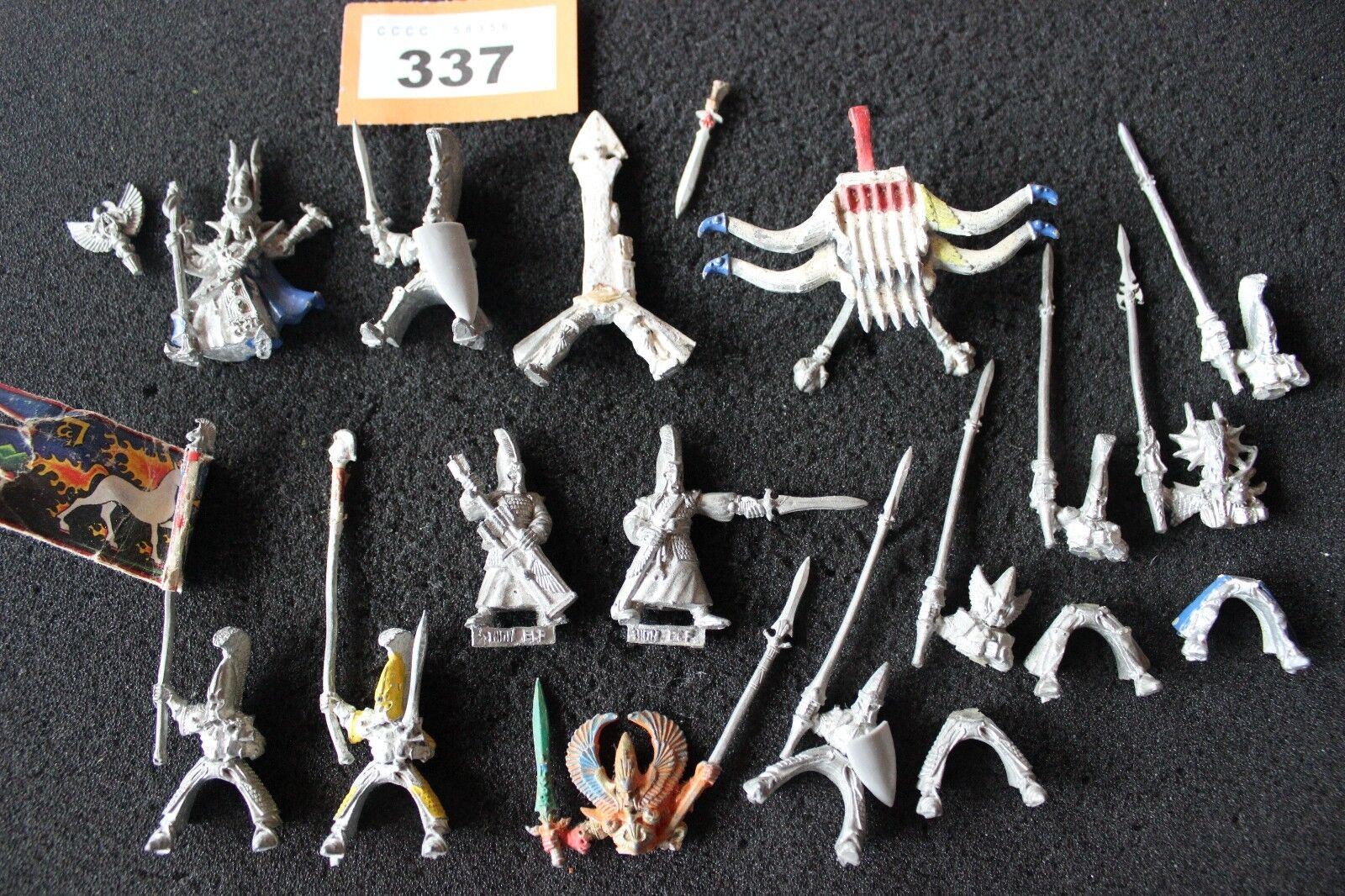 Games Workshop Warhammer High Elf Army Figures Metal Job Lot Spares Repairs A1