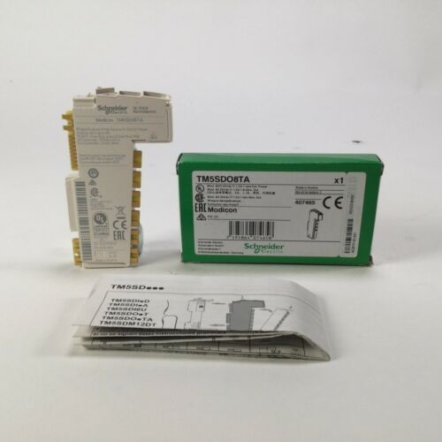 Schneider Electric TM5SDO8TA Modicon Digital output module 24 V DC New NFP