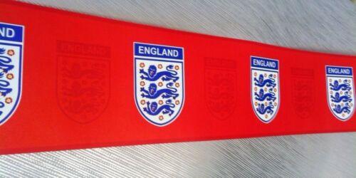 Official Licensed England Football Wallpaper Border Red Emblem Bulk Deal 3 Rolls