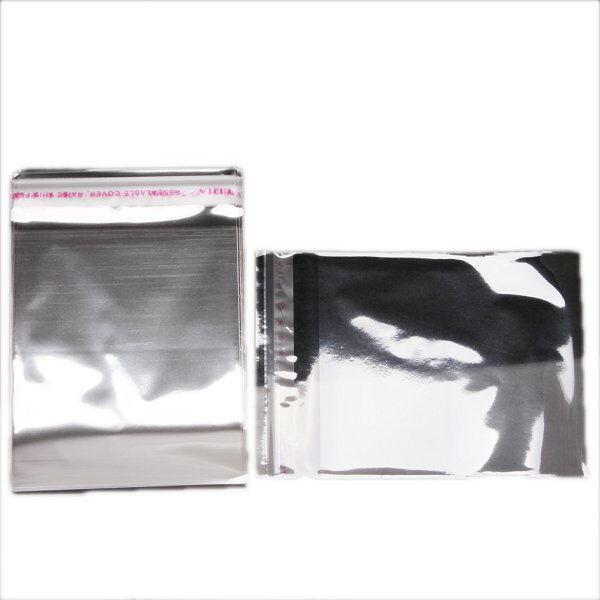 400x Clear Self Adhesive Seal Plastic Pack Bags 120123