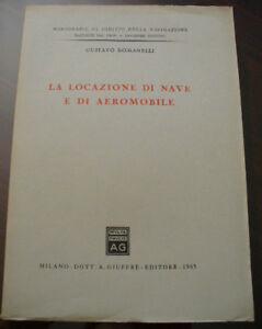 Intelligent (prl) Antique Book Raro 1965 Libro Antico La Locazione Di Nave E Aereomobile