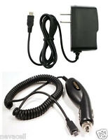 Car+wall Ac Charger Adapter For Att/tmobile Blackberry Curve 9360, Pearl 9100 3g