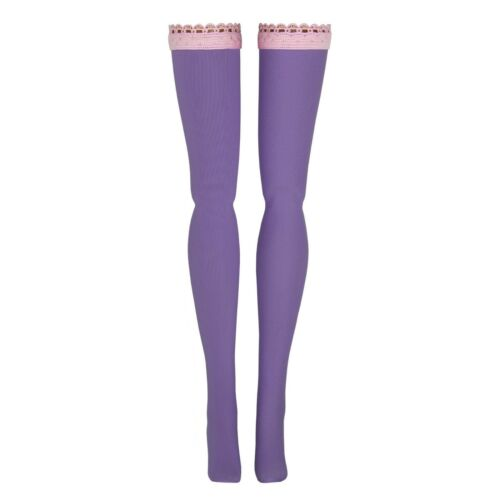 Chubby Azone Pure Neemo Light Purple Doll Stockings for Blythe Middie