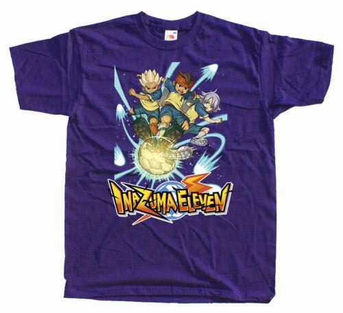 Inazuma Eleven T Shirt KIDS MENS Mark Evans football all sizes 100/% cotton