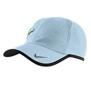 826bee0c5 Details about NEW Nike Rafa Nadal Bull Cap Hat Dri-Fit 398224-440  Featherlight Armory Blue