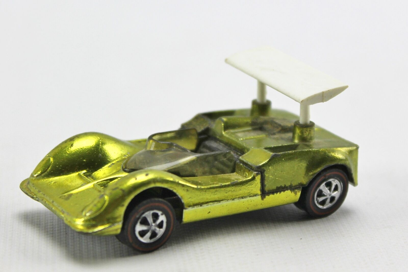 1968 Chaparral 2G Lime Lime Lime Green Anitfreeze Redline Hot Wheels Diecast USA 1 64 0e4a65