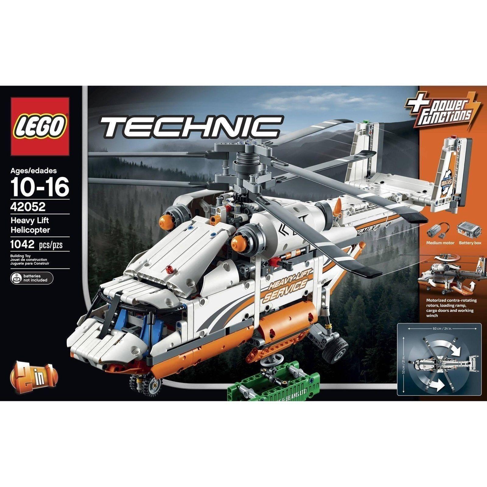LEGO Technic 42052  Elicottero da Carico