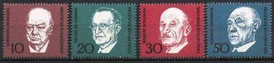 Niedrigerer Preis Mit Bund Nr.554/57 ** Marken Aus Block Nr.4, 1968, Postfrisch