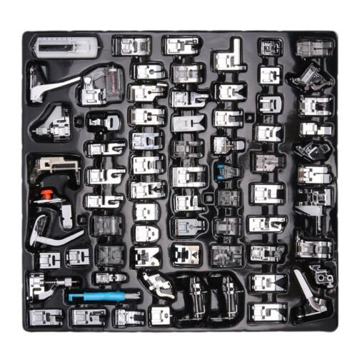 11-72pcs Set Domestic Sewing Machine Presser Foot Feet for Brother Janome Singer