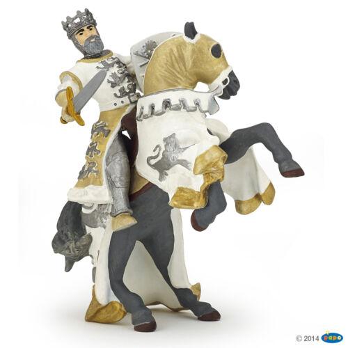 Richard Cœur de Lion avec Cheval Chevalier et Châteaux papo 39783 + 39784