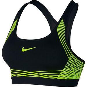 La imagen se está cargando Nike-Pro-Hyper-Clasico-Acolchado-Soporte -Medio-Dri-