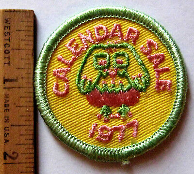 Vintage Girl Scout 1948-1955 SEAMSTRESS BADGE Sewing Thimble Scissors Tape Patch