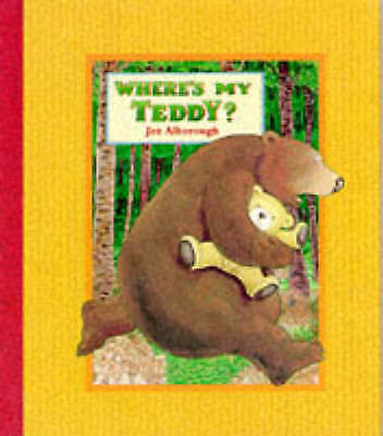 Where's My Teddy? (Bear Hugs), Alborough, Jez | Hardcover Book | Good | 97807445