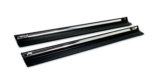 2x moldura protección barra de puerta abajo trasera derecha izquierda para mercedes s123 w123