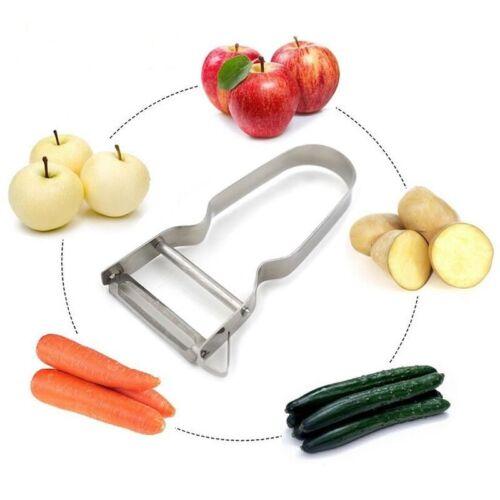 Speed Peeler French Vegetable Peeler Bean Slicer Runner Fruit String Cutter Tool