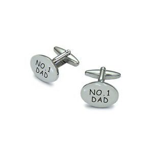 New-Mens-No-1-Dad-Fathers-Day-Cufflinks
