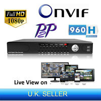 24 Channel 1080p Full Hd 960h Onvif P2p Nvr Network Digital Video Recorder Hdmi