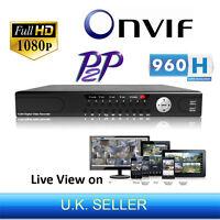 24 Channel 1080p Full Hd 960h Onvif P2p Nvr Network Digital Video Recorder Hdmi