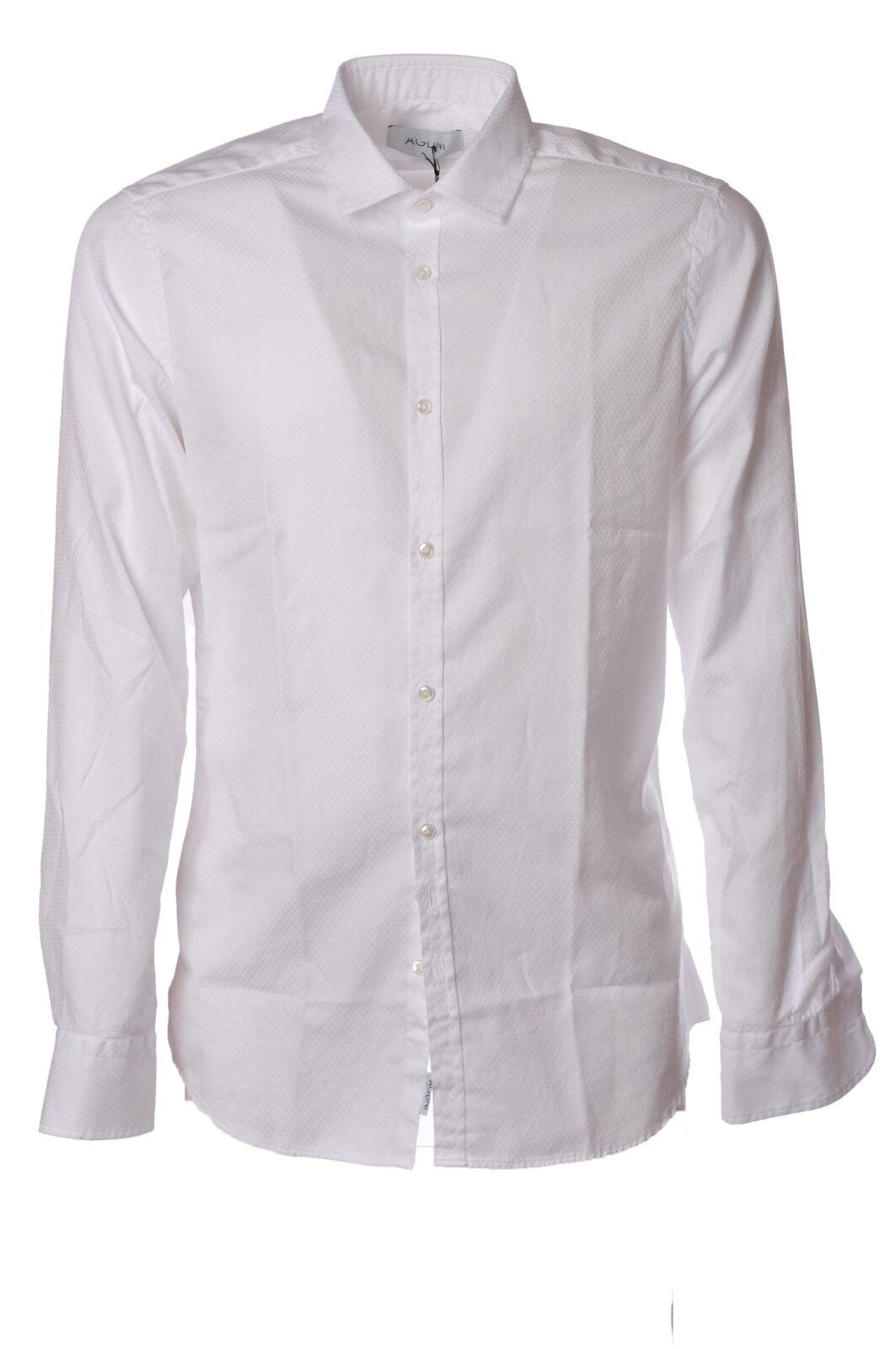 Aglini  -  Shirt - Male - Weiß - 2365726N174100