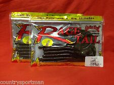 "2 pks STRIKE KING Rage Tail 10/"" Rage Anaconda #RGANA10-125 BlFlk 6//pk;12 ttl"