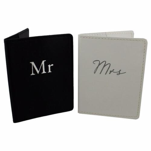 y la Sra de pasaporte Set de regalo en caja de luna de miel Regalo wg701 El Sr