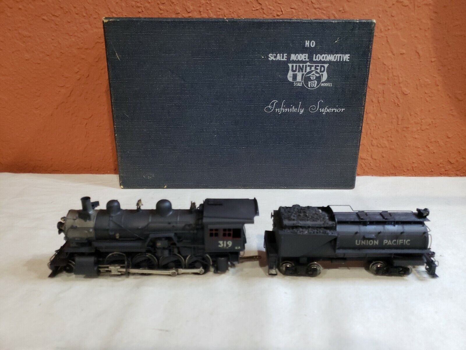 HO SCALE UNITED SCALE MODELS UNION PACIFIC RY. 2-8-0 CONSOLIDATION.