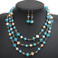 Women-Chunky-Fashion-Crystal-Bib-Collar-Choker-Chain-Pendant-Statement-Necklace thumbnail 36