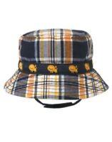 Gymboree Friendly Lion Orange Plaid Lion Bucket Hat 0 3 6 12 18 24
