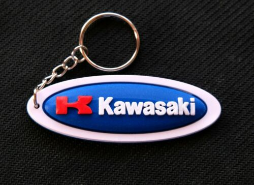 Kawasaki Keyring Rubber Key Ring Motorcycle Racing Biker Collectible Gift