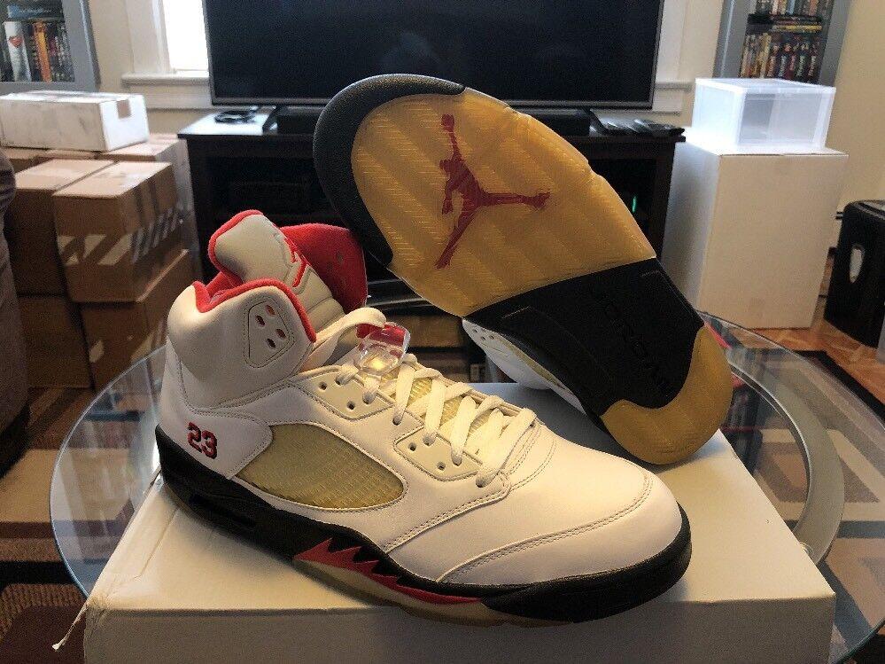 Nike Air Jordan 5 Retro CDP Men's Comfortable The most popular shoes for men and women