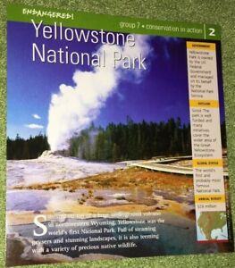 Endangered-Species-Animal-Card-Conservation-In-Action-Yellowstone-National-Park