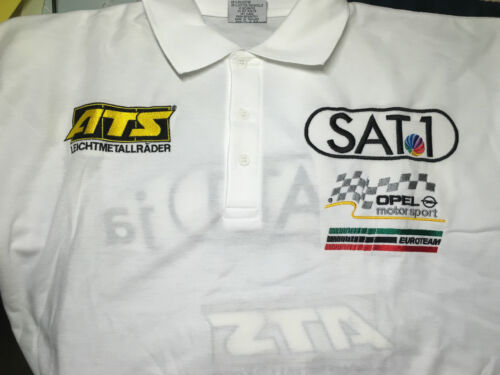 Opel Racing Motorsport Polo Shirt DTM ATS sat1 euro Team OPC aramis Edel l large