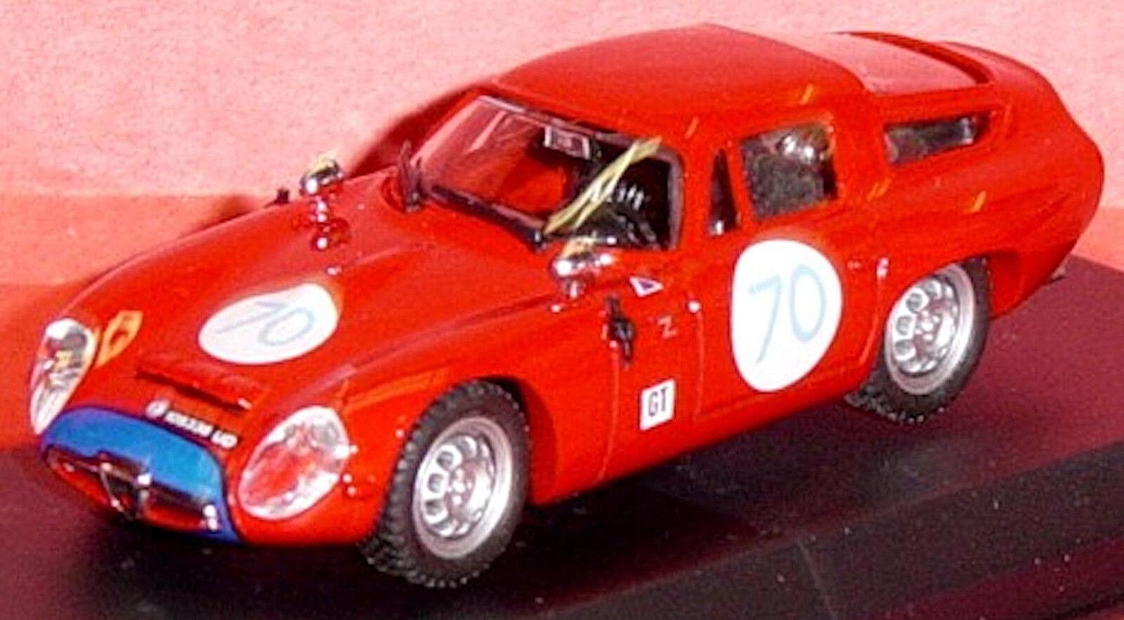 Alfa Romeo Tz 1 Targa Florio 1965  70 Rojo Rojo 1 43 Best