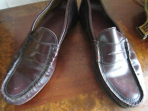 TOWNCRAFT Cordovan Leather Shoes  -  size  10 Men's