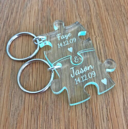 Personalised Wedding Anniversary Engagement Gifts For Him Her Wife Husband Gifts