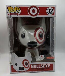 """Funko Pop! Ad Icon Bullseye #32 Target Exclusive 10"""" Figure"""