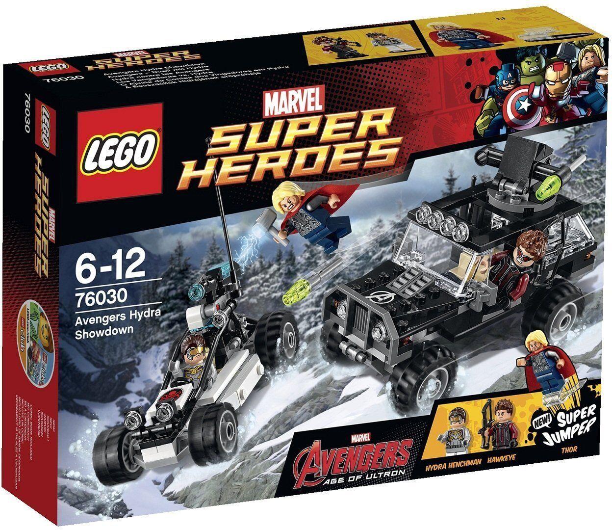 LEGO SUPER HEROES MARVEL AVENGERS HYDRA SHOWDOWN 76030 - NUEVO SIN ABRIR