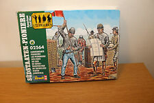 VINTAGE ORIGINAL VERY RARE BOXED REVELL 1:72 CONFEDERATE PIONEERS COMPLETE