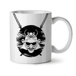 Japanese Warrior Fantasy NEW White Tea Coffee Mug 11 oz | Wellcoda