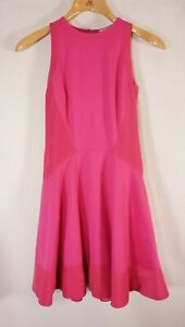 Ted-Baker-Fit-Flare-Dress-Pink-Womens-0-Skater-Fitted