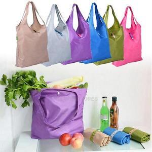 No-Logo-Large-Dacron-Folding-Travel-Grocery-Shopping-Storage-Bags-Tote-Han-hv2n