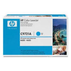 Cartouche-de-toner-HP-C9721A-pour-HP-LaserJet-4600-4650-Cyan-Original