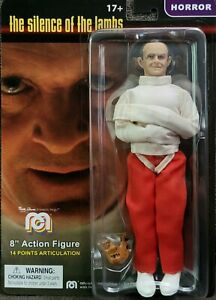 Silence of the Lambs Hannibal Lecter 8 Inch Action Figure IN STOCK* FREE US SHIP