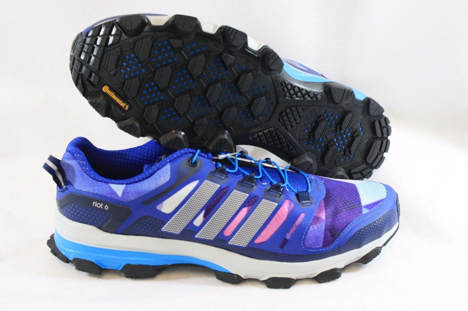 NEW Uomo Sz 9 ADIDAS Supernova Riot 6 B26545 Blue Purple Running  Shoes