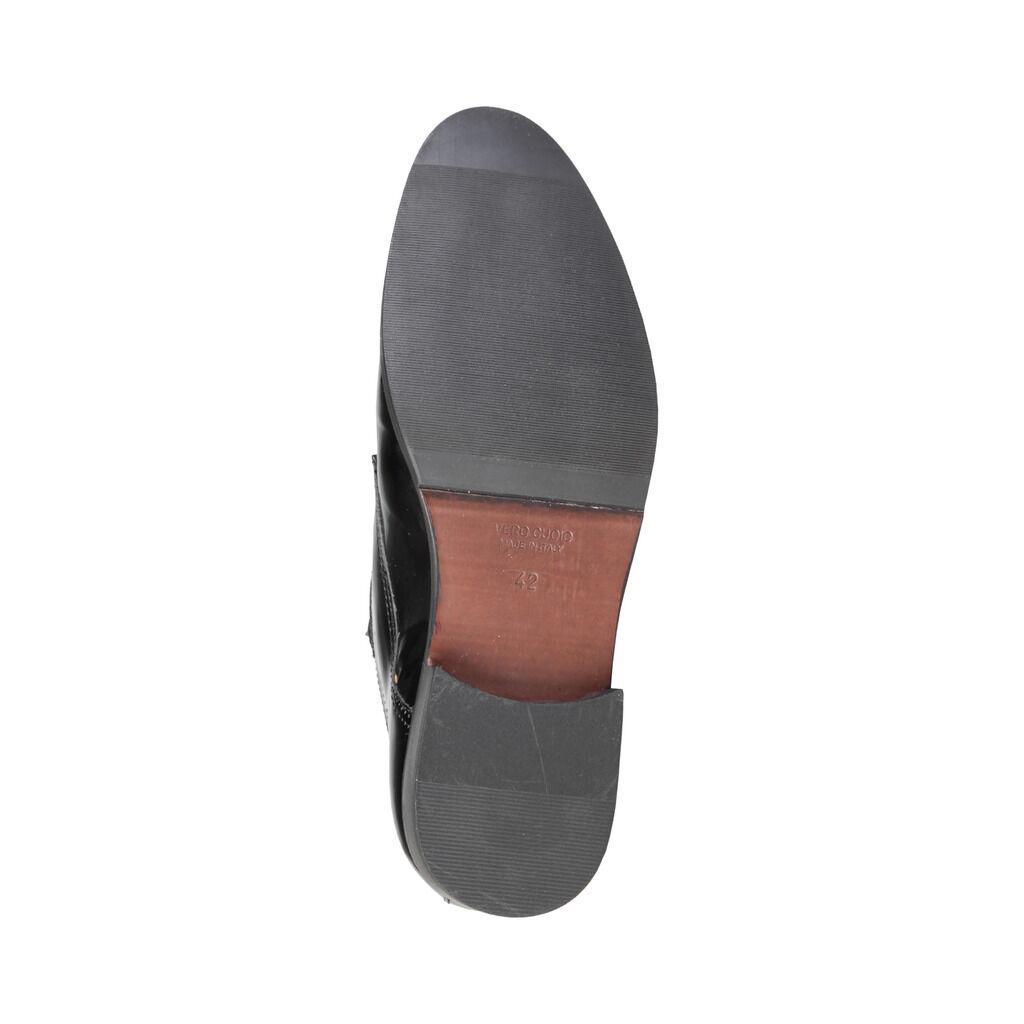 VERSACE V 1969 ARSENE Herrenschuhe Business-Schuhe Schnürschuhe Slipper, Schwarz