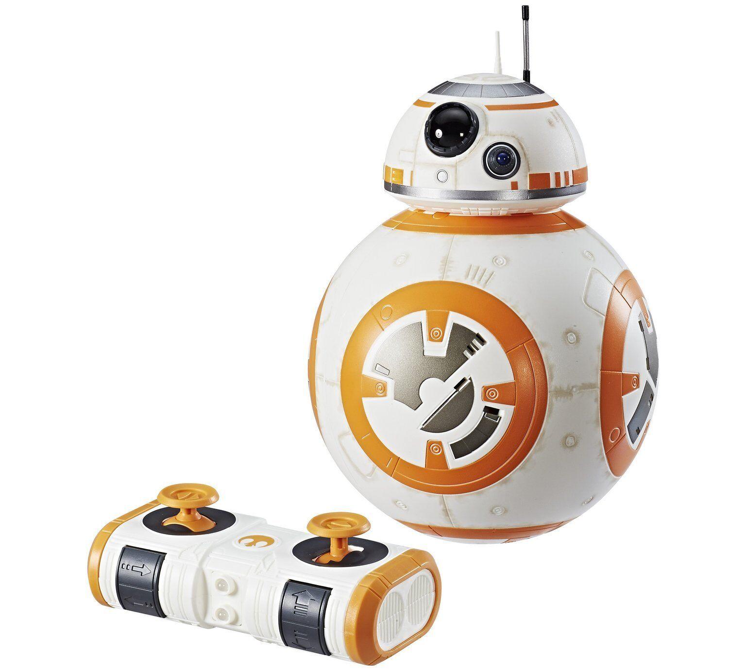 Hasbro Star Wars The Last Jedi Remote Control RC Hyperdrive BB-8 Droid Kids Toy