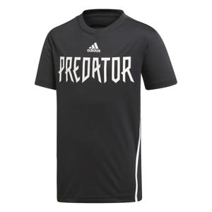 Adidas Kids Tshirt Sports Football Athletic Predator Fashion Gym Tee Boys DV1331