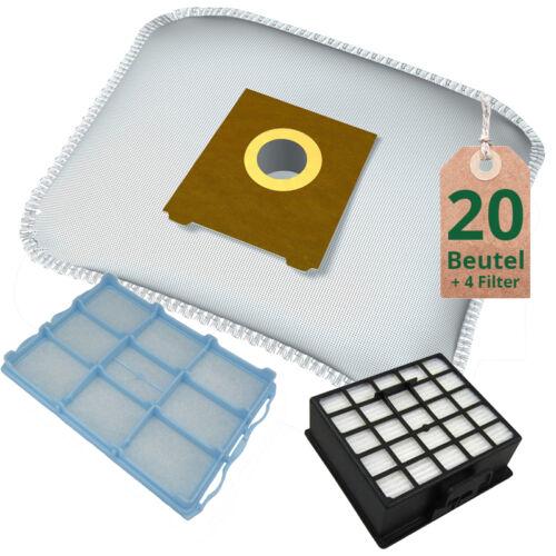 Filterset passend für Siemens VS06G1666//03 synchropower Staubsaugerbeutel