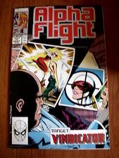 ALPHA FLIGHT n°77 1989  Marvel Comics  [SA34]